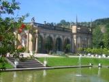 Blick auf die Orangerie im Schlossgarten