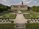 Schloss Weikersheim mit Blick über den Garten